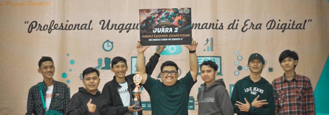 Mobile Legends Competition Dies Natalis STIKOM Yos Sudarso